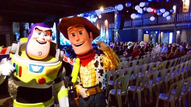 Foto 2 - Cover toy story personagens vivos