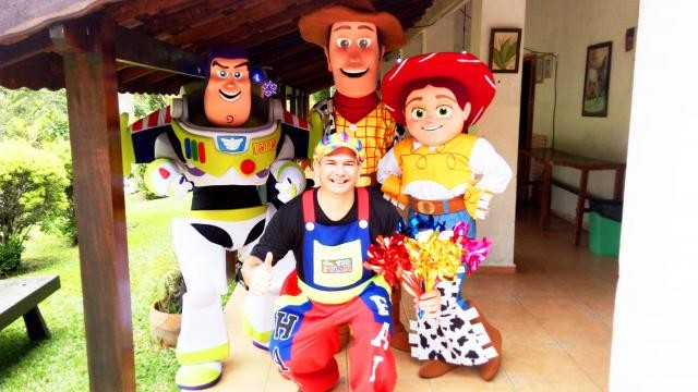 Foto 3 - Cover toy story personagens vivos