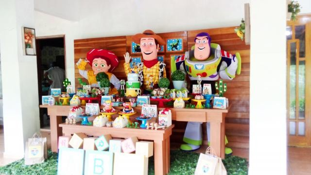 Foto 4 - Cover toy story personagens vivos